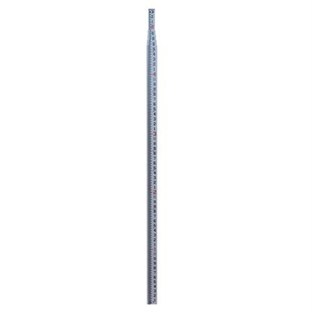 20' Rectangular Fiberglass Survey Rod—Inches