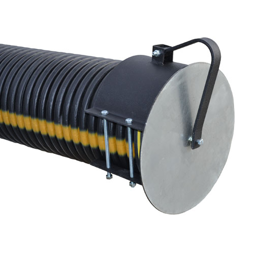 Hinged Pipe Cover : Standard flap gates quot hinged gate for corrugated
