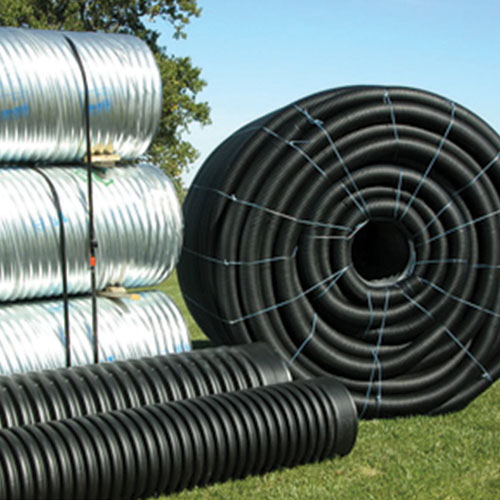 Corrugated Plastic Pipe & Corrugated Metal Pipe