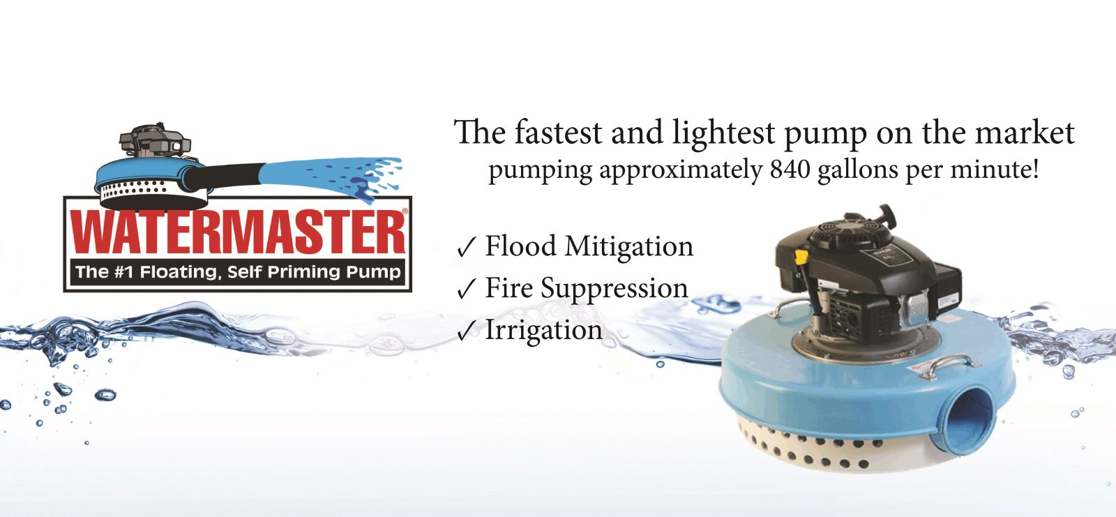 Watermaster Floating Pump