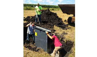 Researchers say 'control boxes' could limit nitrate run-off from tile drains.