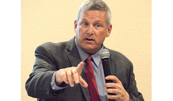 Northey Talks Water Quality in Breda
